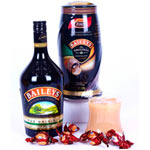 Dazzling Love Treat Baileys and Chocolates Basket