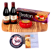Cheese Board and Wines Set