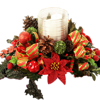 Delightful Christmas Celebration Centerpiece