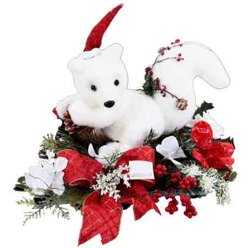 Pretty Squirrel Soft Toy Gift for Christmas