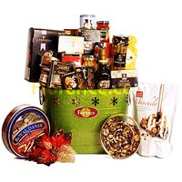Attractive Gourmet Christmas Cooler Tub