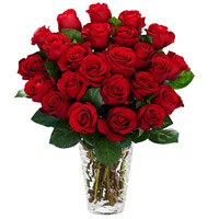 Elegant Red Roses Arrangement